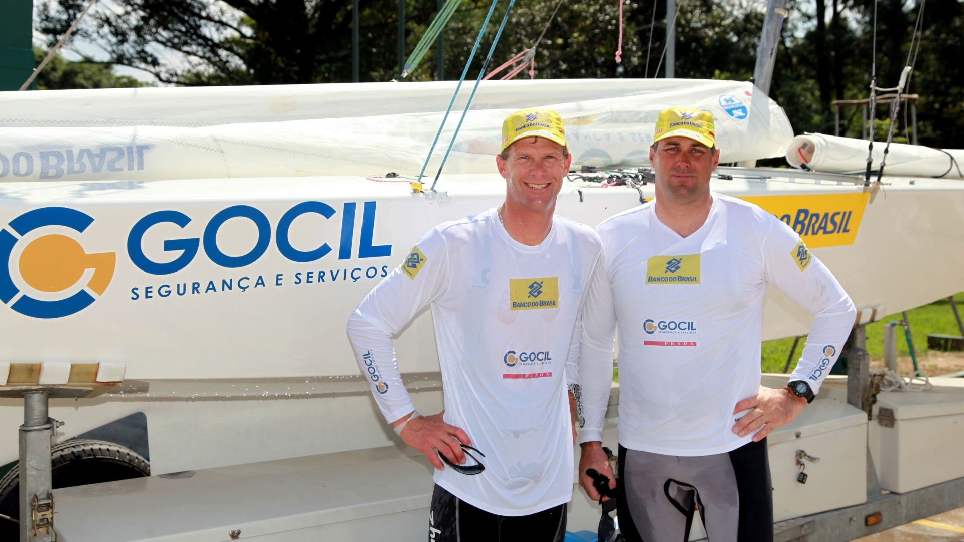 Robert Scheidt (e.) e Bruno Prada, líderes do ranking mundial da classe Star
