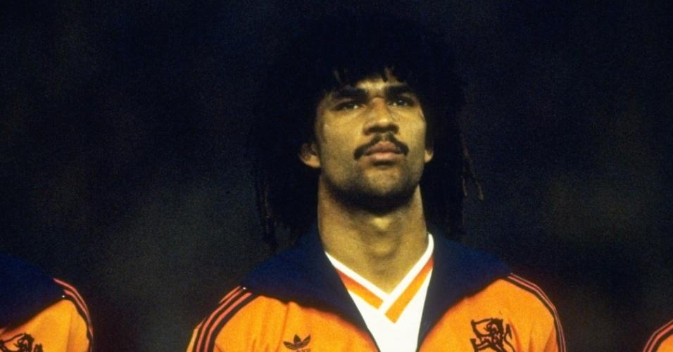 Ruud Gullit, ídolo do futebol holandês