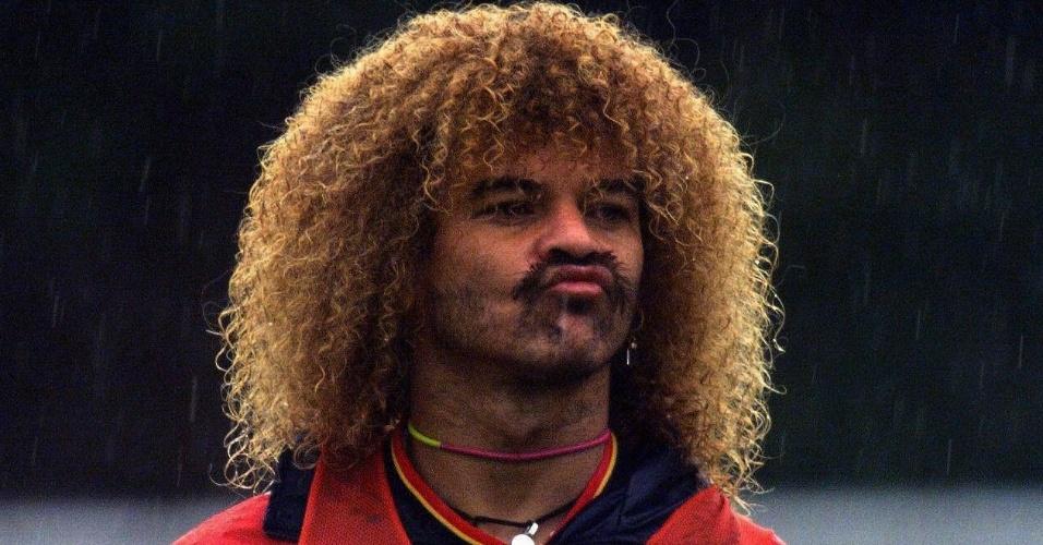 Valderrama, ídolo do futebol colombiano