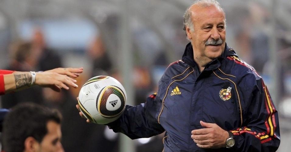 Vicente Del Bosque, técnico campeão da Copa do Mundo de 2010 com a seleção espanhola