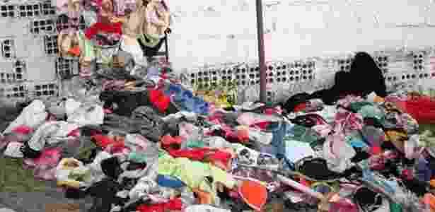 Policiais encontraram cerca de 2.000 calcinhas e sutiãs na casa de suspeito de furtar quintais - Neilton Ferreira/Alagoas Última Hora