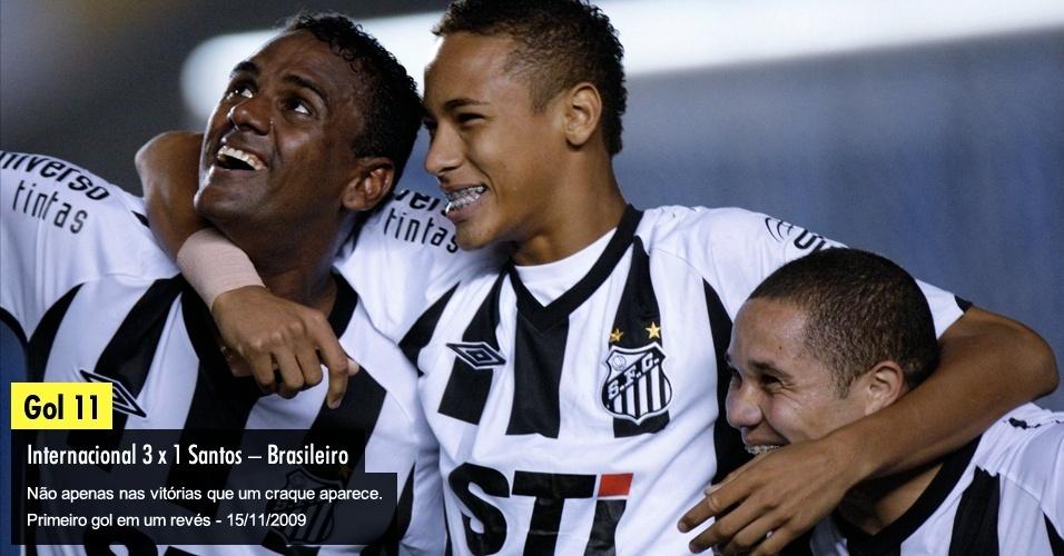 Não apenas nas vitórias que um craque aparece. Primeiro gol em um revés - 15/11/2009