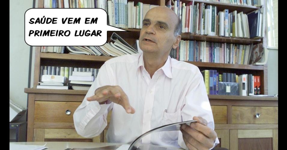 Dráuzio Varella tem um conselho para o Vasco da Gama