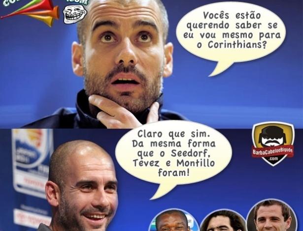 Corneta FC: Guardiola dá falsas esperanças para o Corinthians