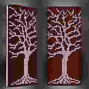 Luminária Árvore, da VR Lux: 1º lugar na categoria Linha de Produtos - Divulgação