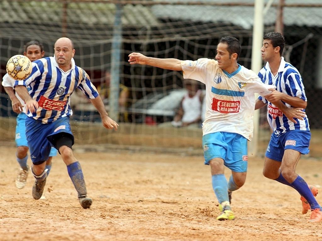 O Garotos da União FC e o Novo Horizonte ficaram no empate por 1 a 1