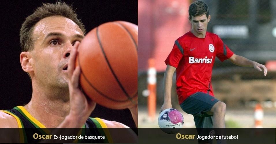 Oscar, meia do Internacional, tem o mesmo nome de um dos maiores atletas da história do basquete brasileiro