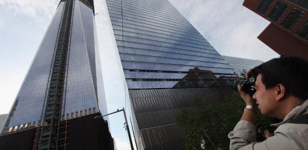 Novo World Trade Center supera Empire State e  torna-se o prédio mais alto de Nova York - Mario Tama/Getty Images/AFP