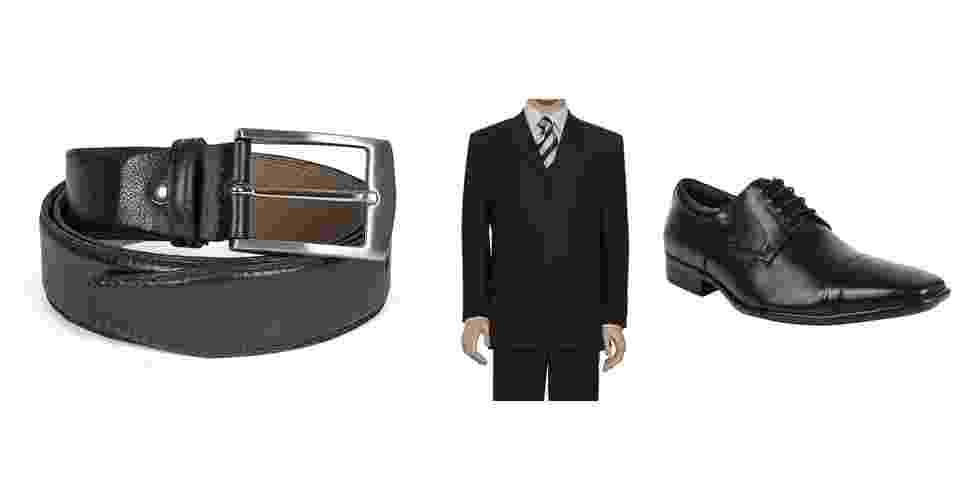 Cinto formal é para ser usado com costume (paletó e calça) no mesmo tom e material do sapato  - Divulgação