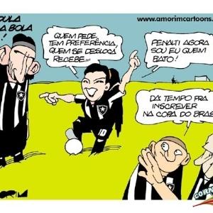 Corneta FC: Melhor jogador do Botafogo é a gandula