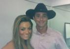 Ex-BBBs Monique e Fael se encontram em evento em Minas Gerais - Reprodução/Twitter
