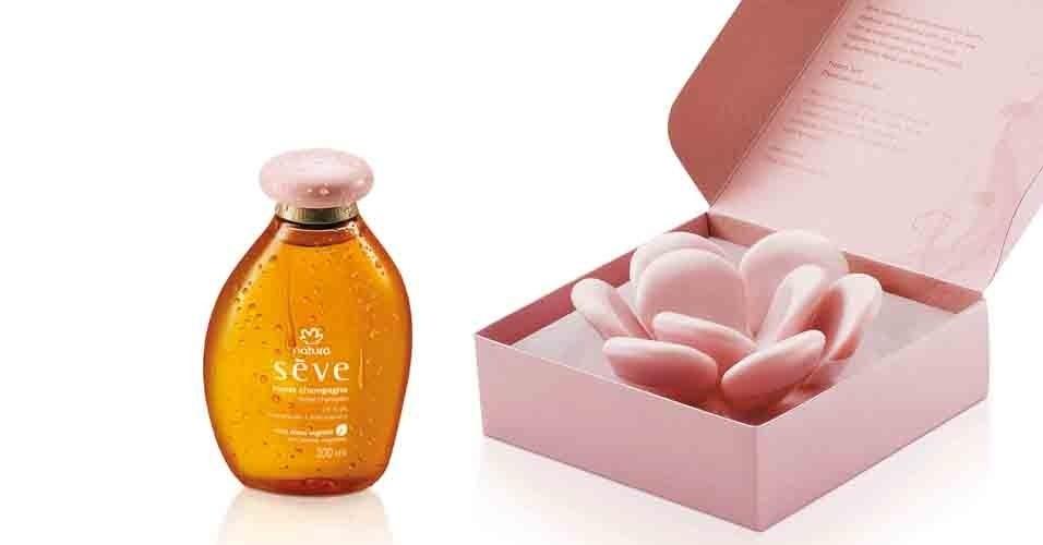 Presente Natura Sève Pétalas de Rosas Champagne