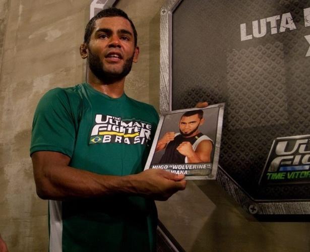 Wolverine comemora vitória e classificação para a semifinal do TUF Brasil, o reality show do UFC