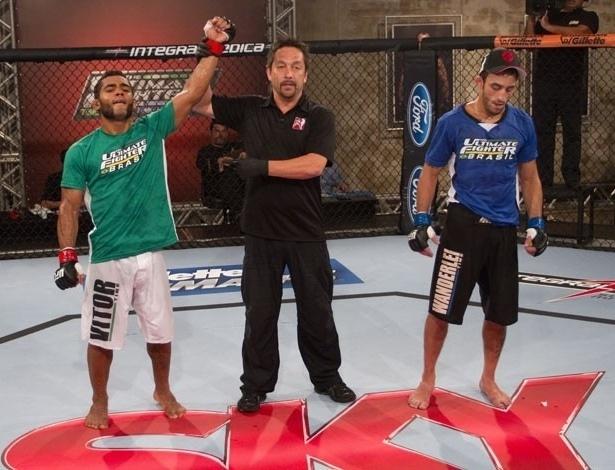 Wolverine é anunciado vencedor de seu duelo com Vina no TUF Brasil