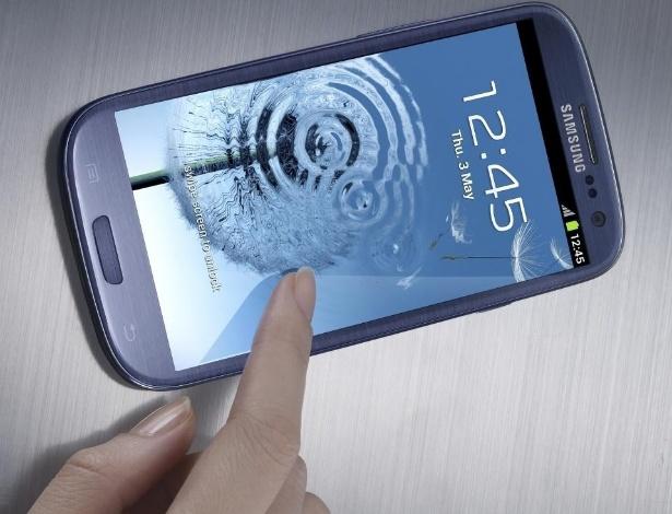 Galaxy SIII entra para a lista de smartphones top de linha; novidade será lançada em maio