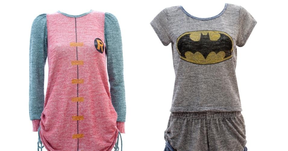 pijamas e camisolas de heróis - Thais Gusmão