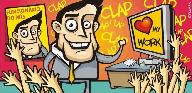 Mais do que ter um currículo extenso, saber cativar os colegas pode ser de grande ajuda dentro da empresa - Stefan/UOL