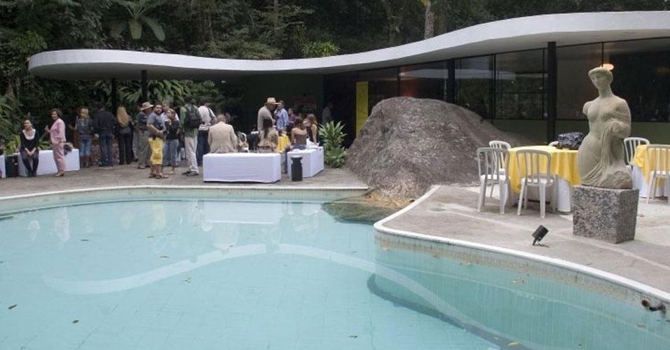 4.mai.2012 - A Casa das Canoas (1951-1953), no Rio de Janeiro (RJ), foi projetada por Oscar Niemeyer para ser sua residência em São Conrado