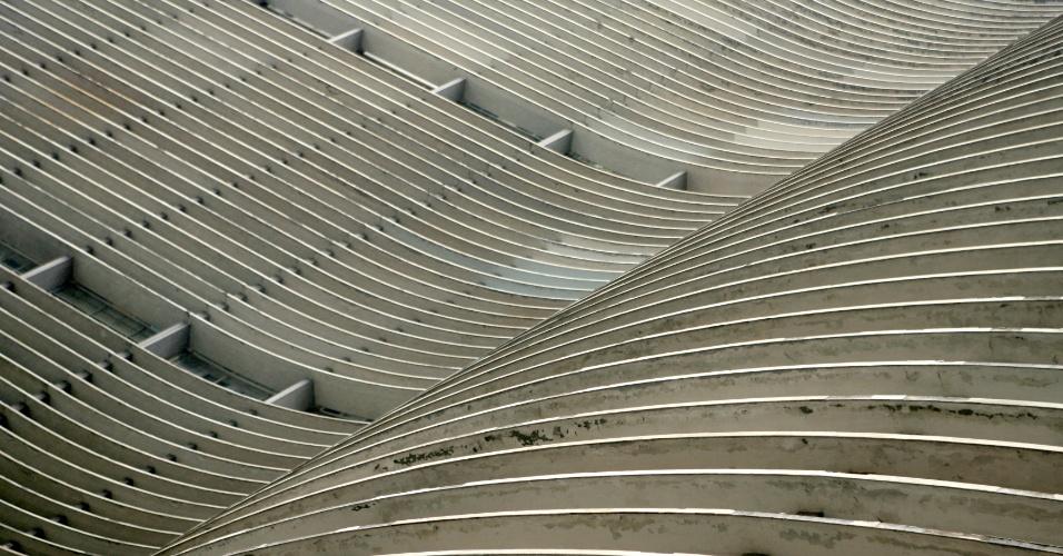 4.mai.2012 - Projetado em 1951, o edifício Copan é um dos símbolos da cidade de São Paulo