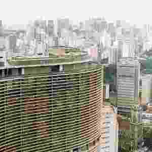 4.mai.2012 - Projetado em 1951, o edifício Copan é um dos símbolos da cidade de São Paulo - Folha Imagem
