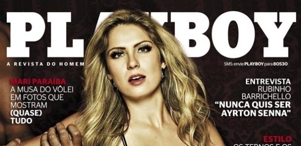 A ex-BBB Renata Dávila estampa a capa da edição de maio da revista