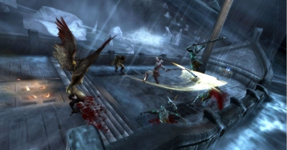 Agora, Kratos segue para Atlantis, agora no fundo do mar, e, de lá, encontrar o caminho para os Domínios da Morte