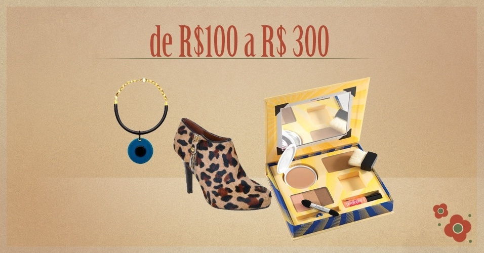 Álbum Dia das Mães 2012 - abre seção dos presentes de R$100 a R$ 300
