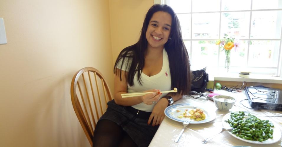 Carla Missias, 23, é nutricionista e foi para Vancouver em 2010 para estudar e trabalhar