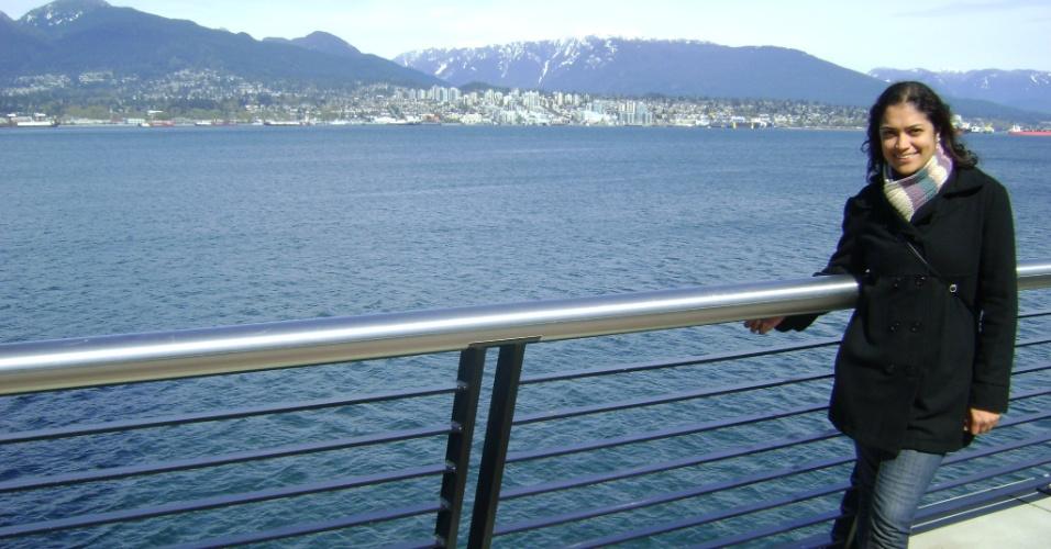 Eloá Oliveira estudou inglês por três meses em Vancouver