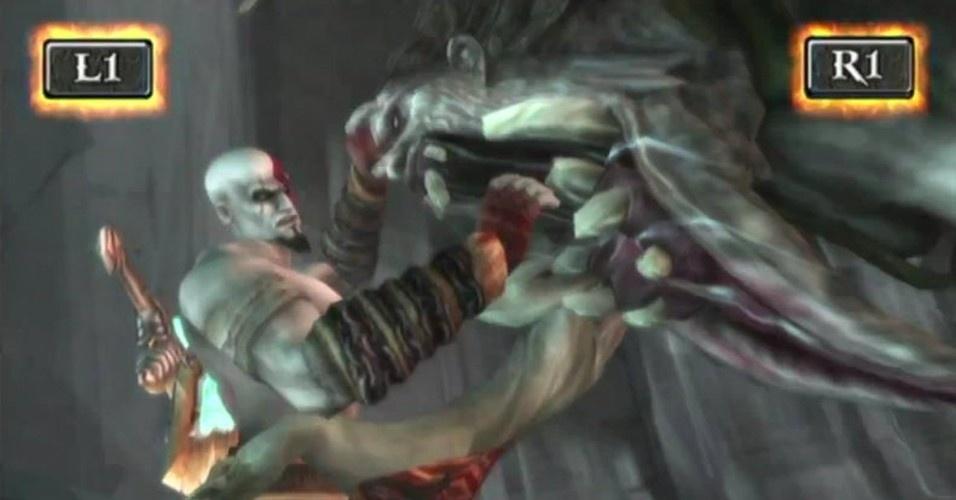 O espartano encontra sua mãe, Calisto, que, ao tentar revelar quem é o pai de Kratos, é transformada num monstro. Não restou ao agora deus da guerra lutar contra a fera e eventualmente derrotá-la. Antes de morrer, Calisto diz que Kratos tem um irmão