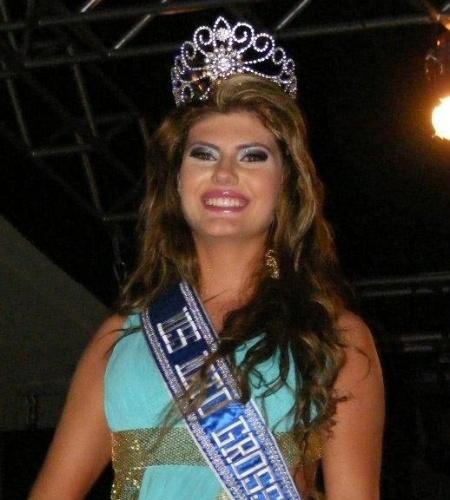 6.mai.2012 - A nova Miss Mundo Mato Grosso é Ângela Trampush, 17 anos, natural de Primavera do Leste. Ângela representará o Mato Grosso no Miss Mundo Brasil