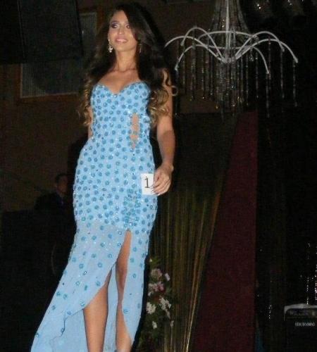 6.mai.2012 - A terceira colocada do Miss Mundo Mato Grosso foi Rayla De La Coleta, a Miss Alta Floresta