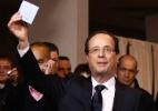 """""""Serei o presidente de todos os franceses"""", diz Hollande após vitória na França - Jacky Naegelen/Reuters"""