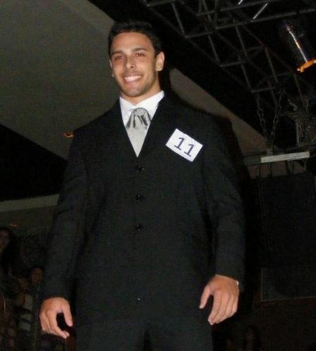 6.mai.2012 - O segundo lugar do Mister Mundo Mato Grosso ficou com Rafael Varela, de Sapezal