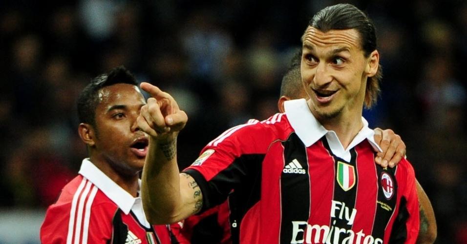 Ibrahimovic converte o pênalti e empata o clássico em Milão