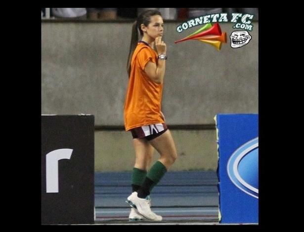 Corneta FC: Adivinha de quem foi a culpa da derrota do Botafogo para o Fluminense