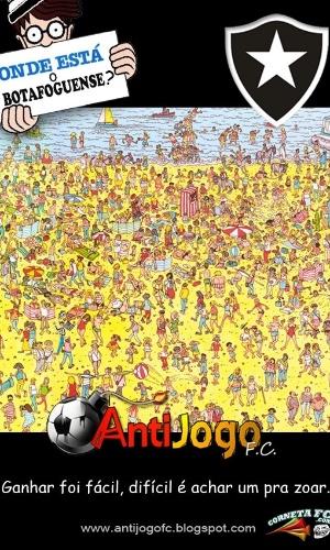 Corneta FC: Onde está o botafoguense?