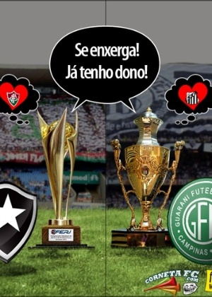 Corneta FC: Taças fiéis já têm dono