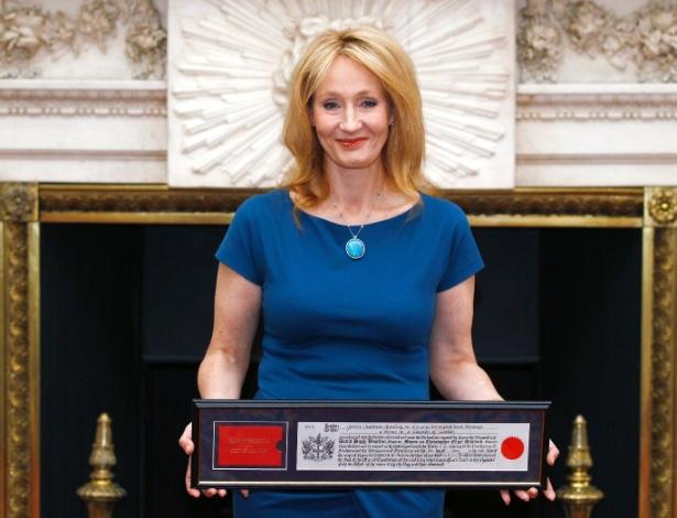 A autora britânica J. K. Rowling, que escreveu os livros da série Harry Potter - Andrew Winning/Reuters