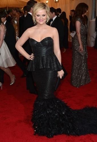 Amy Poehler no baile de gala do MET 2012 (07/05/20120