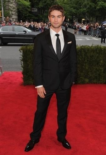 Chace Crawford no baile de gala do MET 2012 (07/05/20120