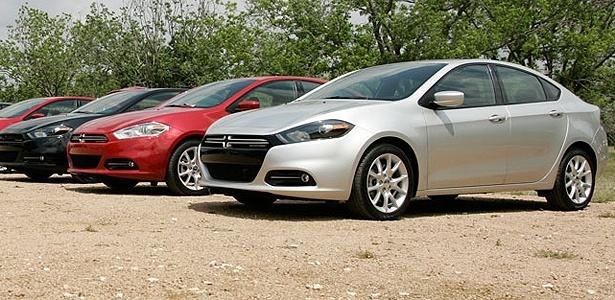Dodge Dart 2013, feito para agradar à nova geração, poderá ser visto no Brasil em outubro - Eduardo Bernasconi/UOL