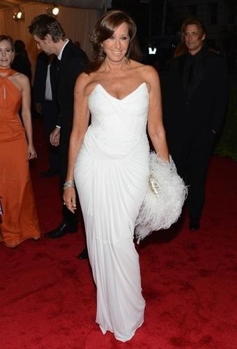 Donna Karan no baile de gala do MET 2012 (07/05/20120