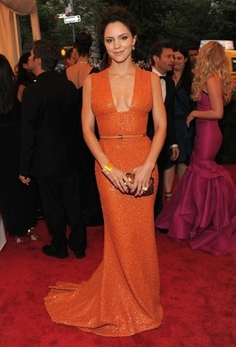 Katharine McPhee no baile de gala do MET 2012 (07/05/20120