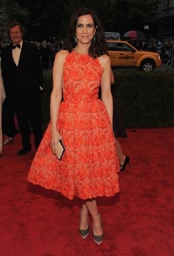 Kristen Wiig no baile de gala do MET 2012 (07/05/20120