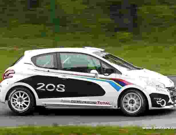 O 208 R2 de rali será fornecido como carro completo ou como kit para montagem, com versões adequadas a provas de asfalto e fora-de-estrada.  - Divulgação/Best Cars