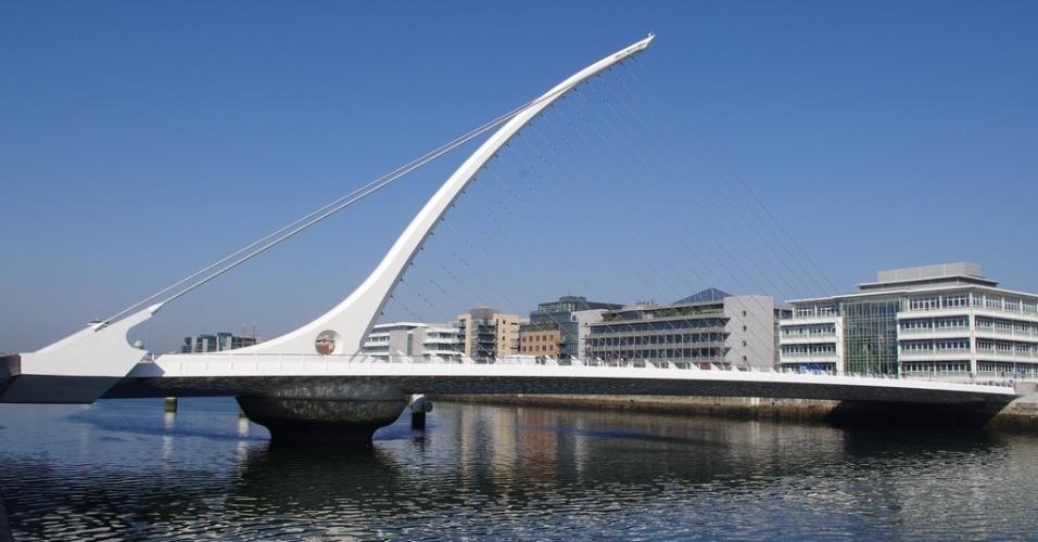 Ponte Samuel Beckett, em Dublin, Irlanda