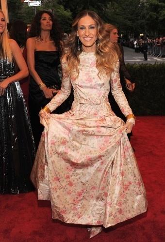Sarah Jessica Parker no baile de gala do MET 2012 (07/05/20120