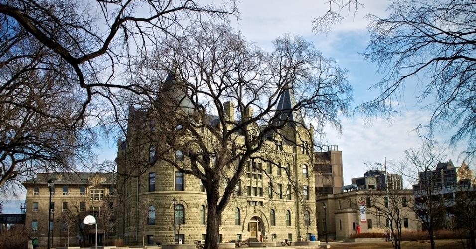 Universidade de Winnipeg, a segunda maior universidade pública da província de Manintoba