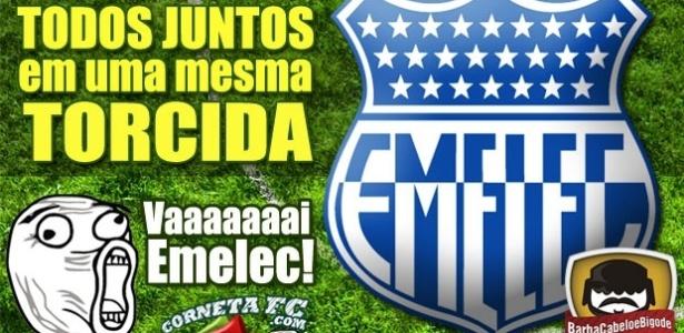 Corneta FC: Rindo do Corinthians, rivais estão juntos na torcida pelo Emelec